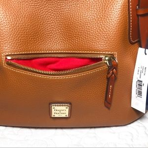 NWT Dooney & Bourke NINA Caramel Bag Satchel